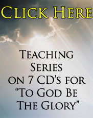To God Be The Glory Teaching Series
